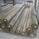 150mm-x-2.4m-cca-treated-log-made-from-pine